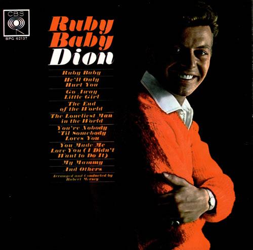 Dion Ruby Baby Uk Vinyl Lp Album Lp Record 474846