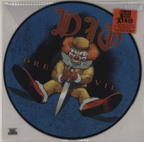 """Dio Dream Evil Live '87 - RSD 2020 12"""" vinyl picture disc 12inch picture disc record UK DIO2PDR757378"""