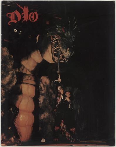 Dio Intermission Tour tour programme UK DIOTRIN712812