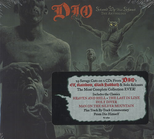 Dio Stand Up And Shout: The Anthology US 2 CD album set
