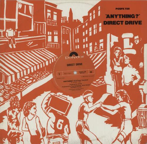 "Direct Drive Anything? - Extended Version 12"" vinyl single (12 inch record / Maxi-single) UK D3R12AN517164"