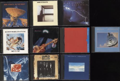 Dire Straits 1978-1993 Albums CD album (CDLP) UK DIRCDAL737863