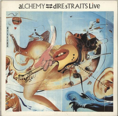 Dire Straits Alchemy Live - EX 2-LP vinyl record set (Double Album) UK DIR2LAL696304