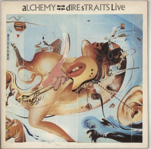 Dire Straits Alchemy Live 2-LP vinyl record set (Double Album) UK DIR2LAL216861