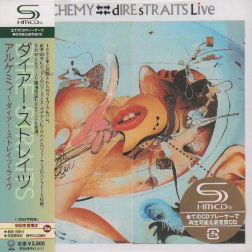 Dire Straits Alchemy SHM CD Japanese DIRHMAL444586