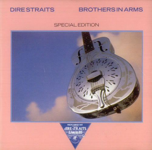 """Dire Straits Brothers In Arms - 1st Ever CD Single CD single (CD5 / 5"""") UK DIRC5BR17466"""