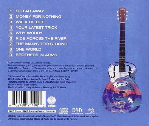 Dire Straits Brothers In Arms - 20th Anniversary Edition - Sealed super audio CD SACD UK DIRSABR323401