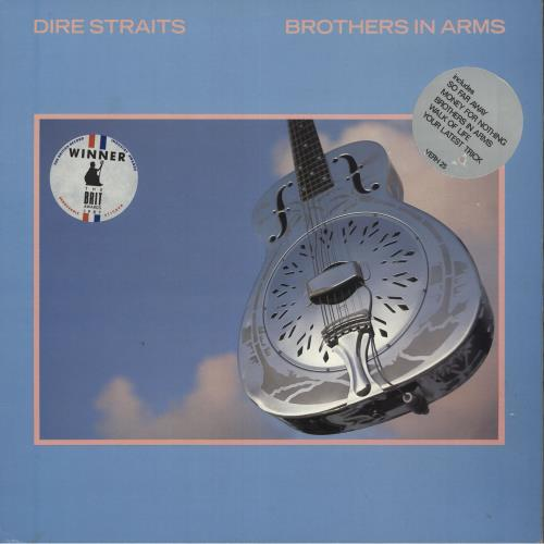 Dire Straits Brothers In Arms - Double Stickered vinyl LP album (LP record) UK DIRLPBR745167