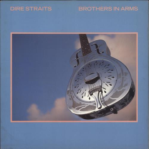 Dire Straits Brothers In Arms - EX vinyl LP album (LP record) UK DIRLPBR86628