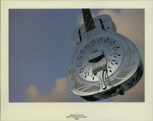 Dire Straits Brothers In Arms - Print memorabilia UK DIRMMBR138268