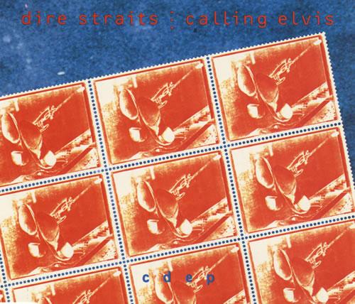 "Dire Straits Calling Elvis CD single (CD5 / 5"") Canadian DIRC5CA432681"