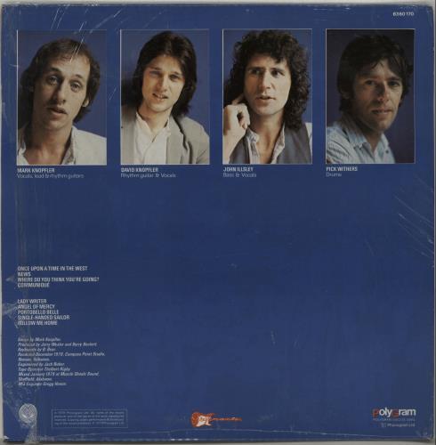 Dire Straits Communique -  Opened shrink vinyl LP album (LP record) Portugese DIRLPCO647030