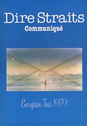 Dire Straits Communique - European Tour 1979 tour programme UK DIRTRCO60776