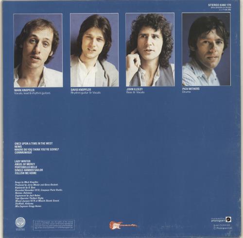 Dire Straits Communique vinyl LP album (LP record) French DIRLPCO704310
