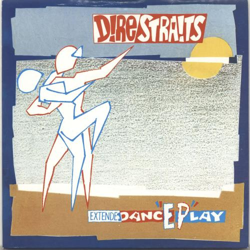 "Dire Straits Dance Play EP - P/S - Solid 7"" vinyl single (7 inch record) UK DIR07DA695773"