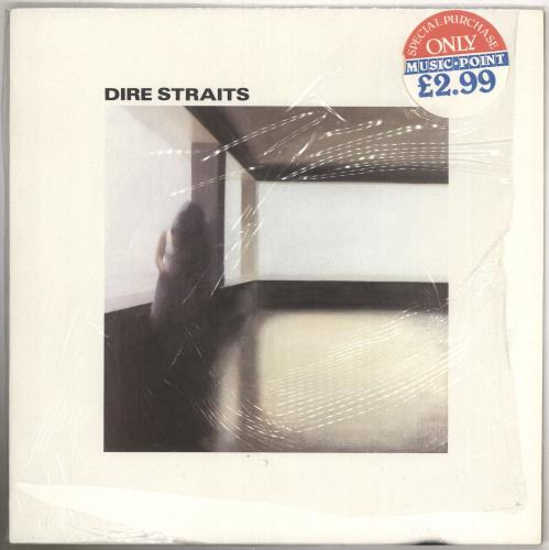 Dire Straits Dire Straits - 2nd + Shrink vinyl LP album (LP record) UK DIRLPDI644894