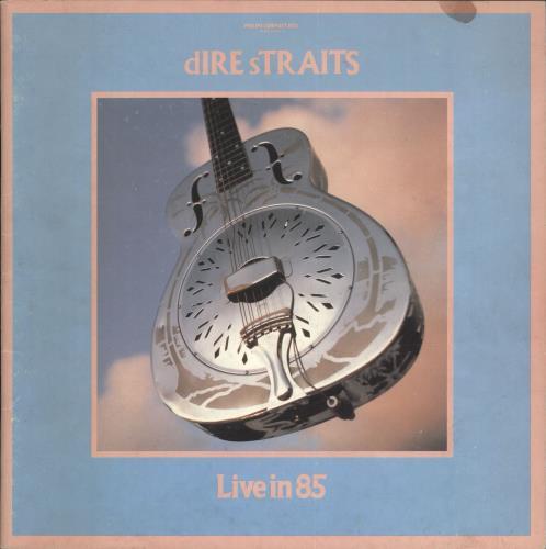 Dire Straits Live In 85 - EX tour programme UK DIRTRLI567106