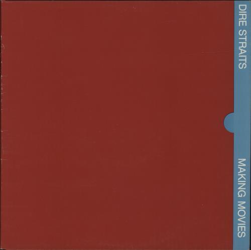 Dire Straits Making Movies - 2nd vinyl LP album (LP record) UK DIRLPMA495407