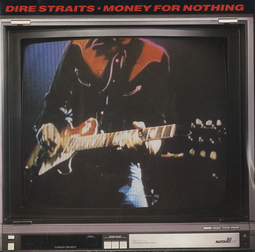 "Dire Straits Money For Nothing - P/S 7"" vinyl single (7 inch record) UK DIR07MO564857"