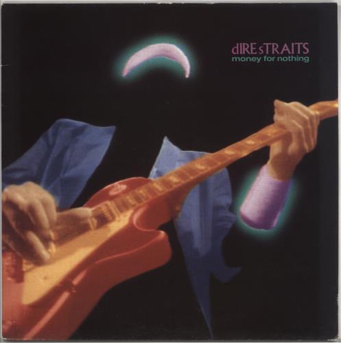 Dire Straits Money For Nothing - VG/EX vinyl LP album (LP record) UK DIRLPMO725516