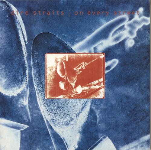 Dire Straits On Every Street vinyl LP album (LP record) UK DIRLPON716707