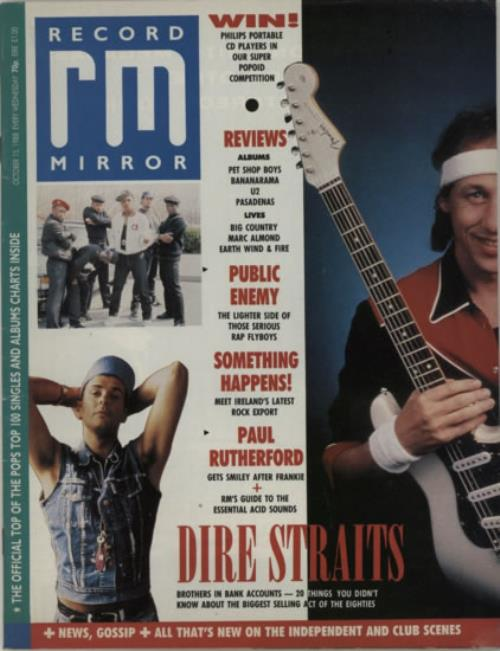 Dire Straits Record Mirror magazine UK DIRMARE607903