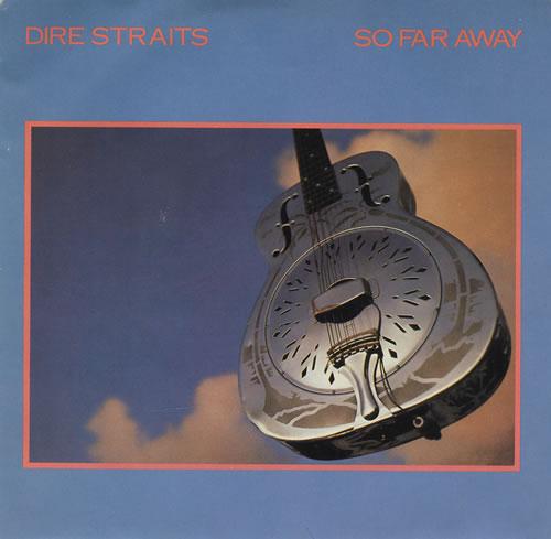 "Dire Straits So Far Away 7"" vinyl single (7 inch record) Canadian DIR07SO141501"