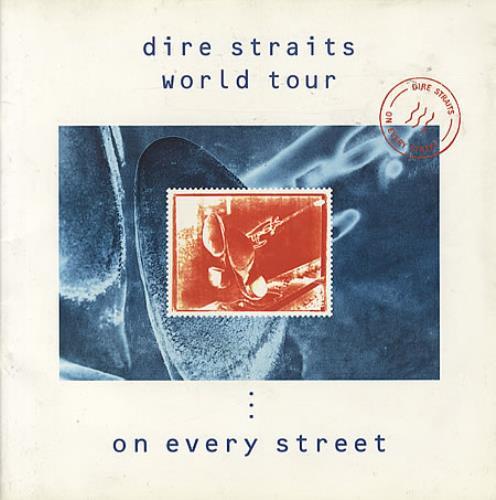Dire Straits World Tour - On Every Street tour programme UK DIRTRWO326103