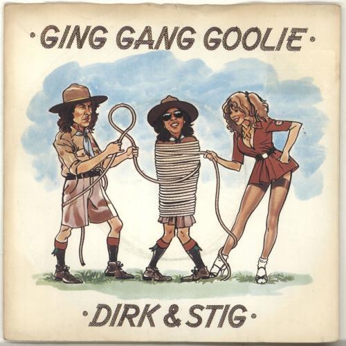 """Dirk & Stig Ging Gang Goolie 7"""" vinyl single (7 inch record) UK RKS07GI703349"""