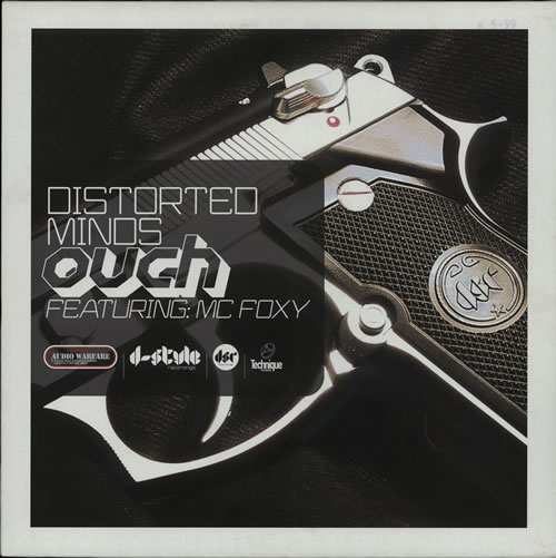 """Distorted Minds Ouch 12"""" vinyl single (12 inch record / Maxi-single) UK D7S12OU580835"""
