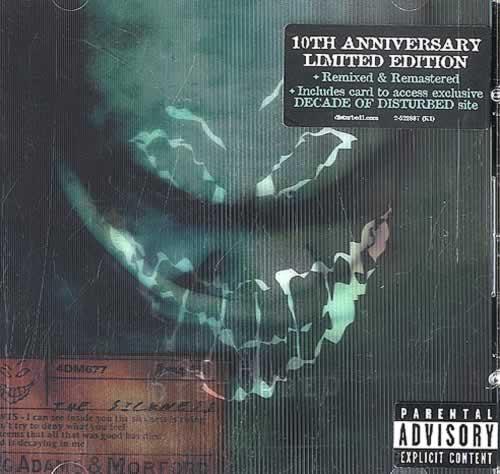 Disturbed The Sickness - Lenticular Sleeve CD album (CDLP) US DURCDTH506723