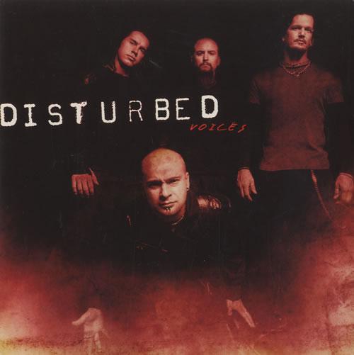 "Disturbed Voices - Red Vinyl 7"" vinyl single (7 inch record) UK DUR07VO180340"