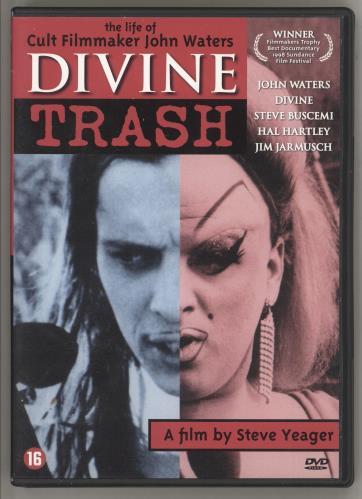 Divine (80's) Divine Trash DVD Dutch DVNDDDI683612