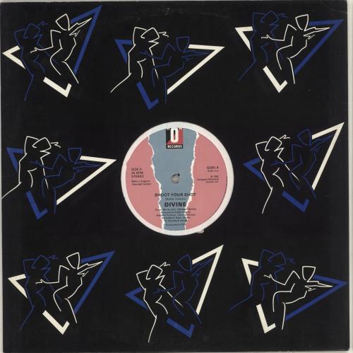 "Divine (80's) Shoot Your Shot 12"" vinyl single (12 inch record / Maxi-single) UK DVN12SH713144"