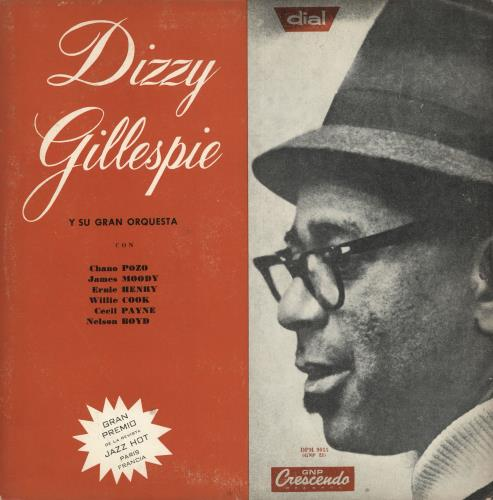 Dizzy Gillespie Dizzy Gillespie Y Su Gran Orquesta vinyl LP album (LP record) Argentinean DB5LPDI741688