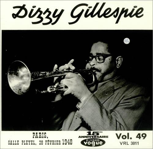Dizzy Gillespie Dizzy Gillespie vinyl LP album (LP record) UK DB5LPDI443304