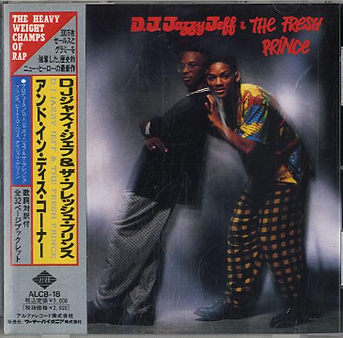 DJ Jazzy Jeff And In This Corner... CD album (CDLP) Japanese JAZCDAN184960