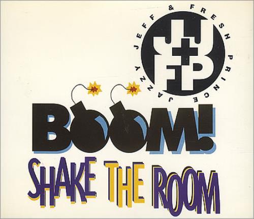 "DJ Jazzy Jeff Boom! Shake The Room CD single (CD5 / 5"") UK JAZC5BO185973"