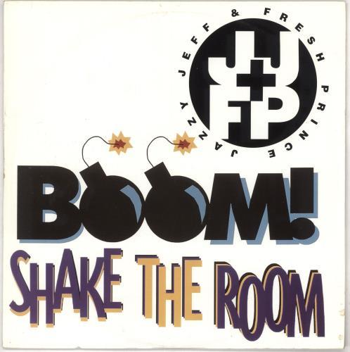 "DJ Jazzy Jeff Boom! Shake The Room 12"" vinyl single (12 inch record / Maxi-single) UK JAZ12BO195849"