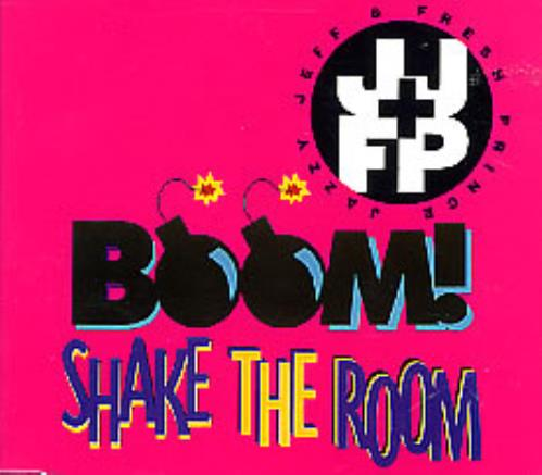 "DJ Jazzy Jeff Boom! Shake The Room CD single (CD5 / 5"") UK JAZC5BO63595"