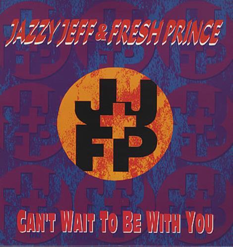 "DJ Jazzy Jeff Can't Wait To Be With You 12"" vinyl single (12 inch record / Maxi-single) UK JAZ12CA368453"