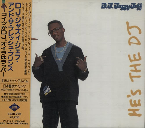DJ Jazzy Jeff He's The DJ, I'm The Rapper CD album (CDLP) Japanese JAZCDHE633737