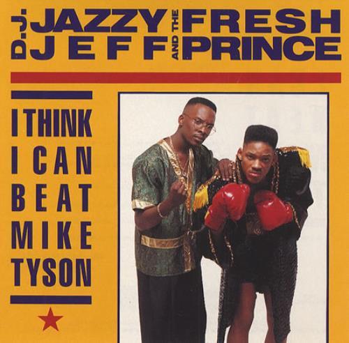 """DJ Jazzy Jeff I Think I Can Beat Mike Tyson CD single (CD5 / 5"""") US JAZC5IT166628"""