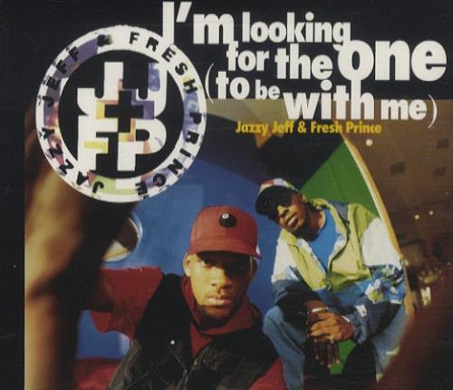 """DJ Jazzy Jeff I'm Looking For The One CD single (CD5 / 5"""") UK JAZC5IM101862"""