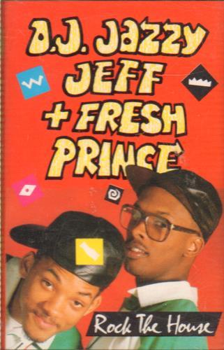 DJ Jazzy Jeff Rock The House cassette album UK JAZCLRO645762