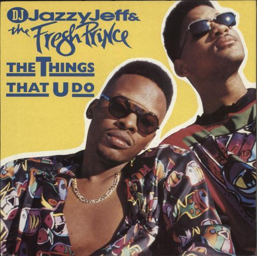 "DJ Jazzy Jeff The Things That U Do 12"" vinyl single (12 inch record / Maxi-single) UK JAZ12TH719536"