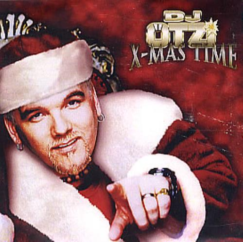 DJ Otzi X-Mas Time CD-R acetate UK OTZCRXM294782