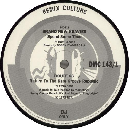 DMC Remix Culture 143 UK Promo 12