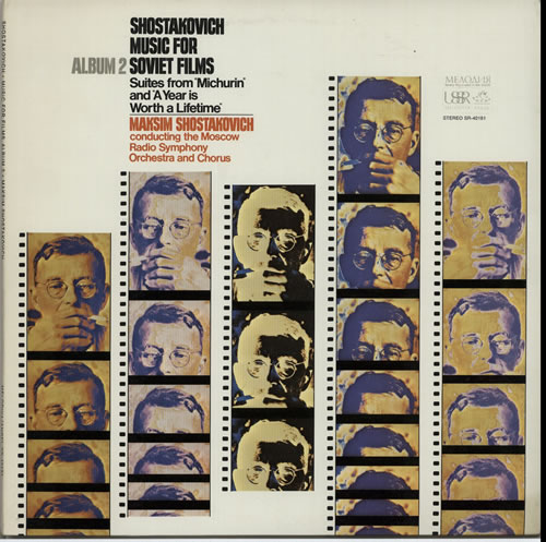 Dmitri Shostakovich Music for Soviet Films, Album 2 vinyl LP album (LP record) US S4ILPMU632320
