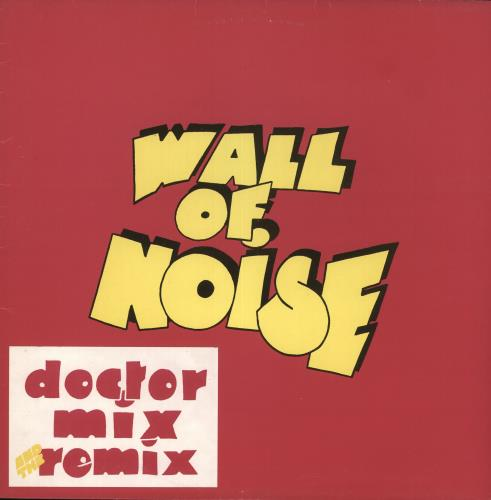 Doctor Mix And The Remix Wall Of Noise vinyl LP album (LP record) UK IZJLPWA712920